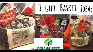 3 Dollartree Gift Basket Ideas for Under $8!!!