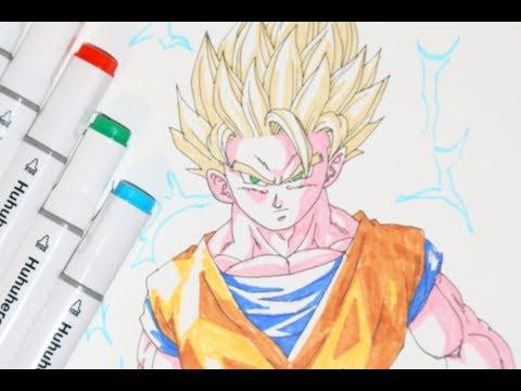 Let S Draw Super Saiyan 2 Goku