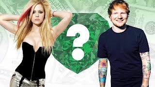 WHO'S RICHER? - Avril Lavigne or Ed Sheeran? - Net Worth Revealed!