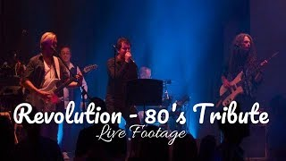 80's Revolution // 80's Tribute Band // Live Footage // Book at Warble Entertainment