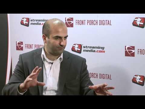 Ashkan Karbasfrooshan at Streaming Media West