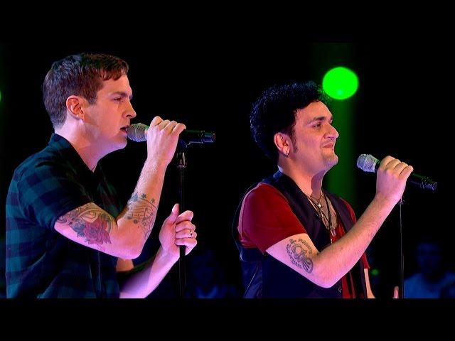 Stevie McCrorie Vs Tim Arnold - Battle Performance: The Voice UK 2015 - BBC One