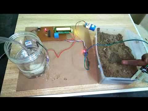 PART-1 Automatic Irrigation System using Soil Moisture Sensor