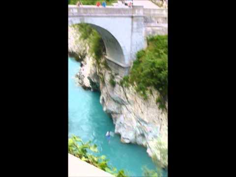 Tommy Jumping Of Napoleon Bridge Kobarid