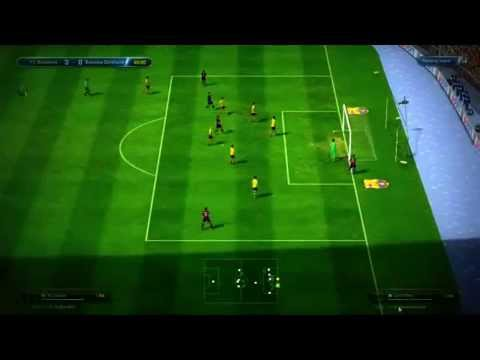 FIFA ONLINE 3-  Barcelona Tiki Taka [ All Goals 6-2 ]