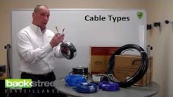 Types of Security Camera Cables & Maximum Distances