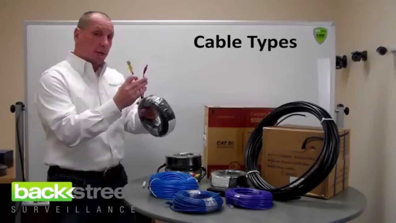 Types Of Security Camera Cables Maximum Distances Youtube Cable And Wire Explained