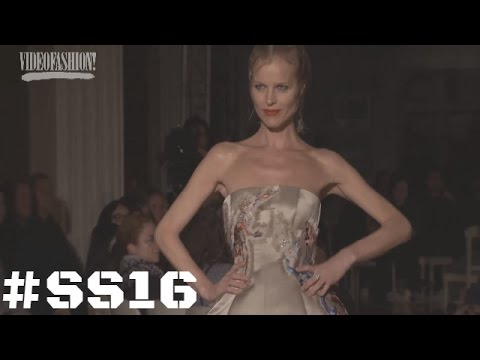 Designer Interview with Giles Deacon - Spring/Summer 2016 - London Fashion Week