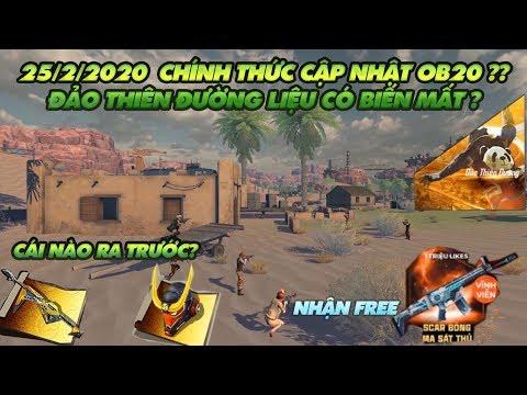 Garena Free Fire| Mai Cập Nhật Ob20 - Đảo Thiên đường Có Biến Mất Thật Không - Thông Tin Quan Trọng