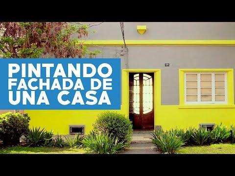 C mo pintar la fachada de una casa asurekazani - Pintar fachada casa ...