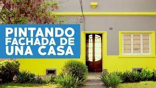 Cómo pintar la fachada de una casa? YouTube