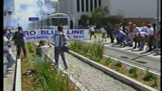KCAL & KNBC News Reports of Blue Line Opening, July 14, 1990