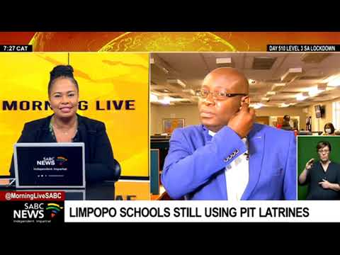 Pit Latrines I Limpopo province grapples with the eradication of pit latrines in schools