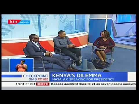 Checkpoint: Githu Muigai terms Raila Odinga's swearing-in as  treason