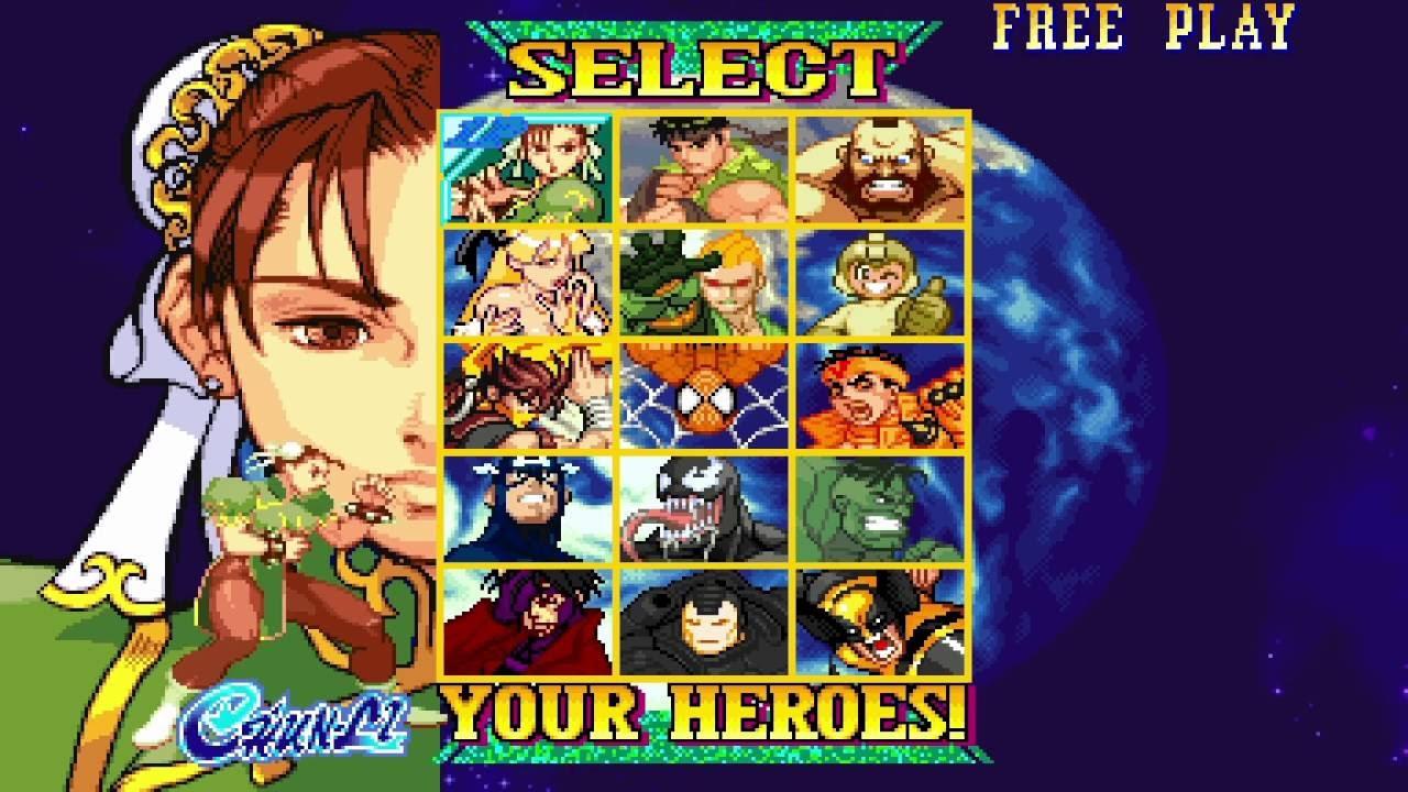 Marvel Vs  Capcom: Clash of Super Heroes Re-Coloring Project