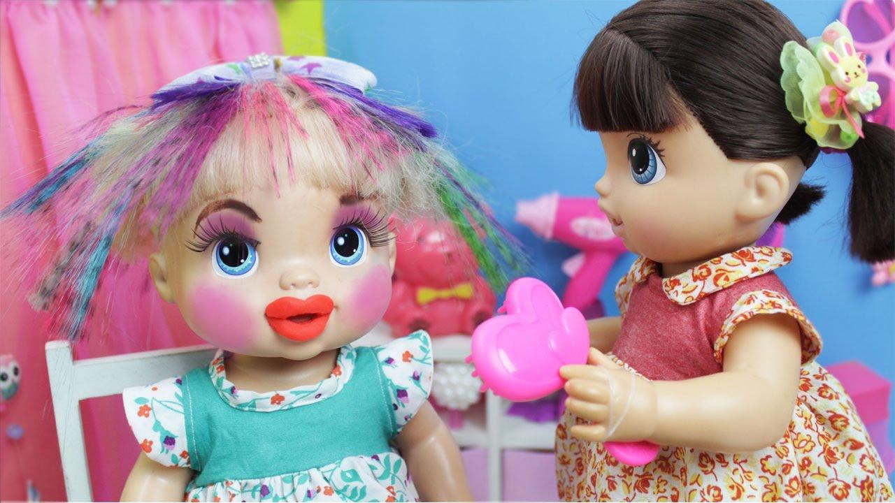Baby Alive Malu Muda O Visual Lilly Doll Youtube