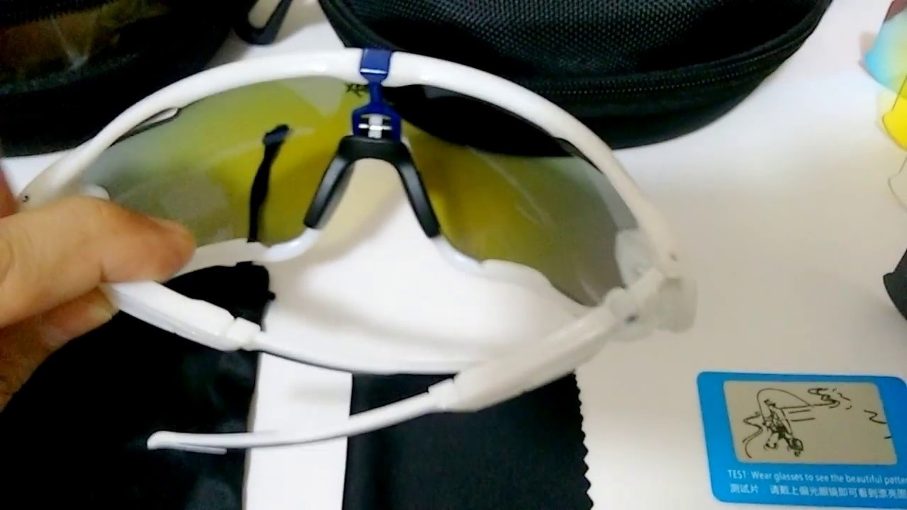 Óculos Ciclismo, MTB, Speed e corrida 5 lentes Similar - YouTube 4a95b7eb2e