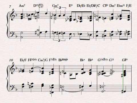 The Nearness Of You Piano Arrangement By Erik Kihss Youtube