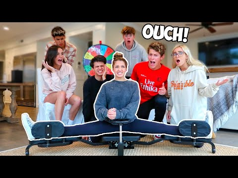 How Far Can You SPLIT CHALLENGE!