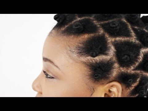 Bantu Knots on Natural Hair (Full DVD Tutorial)
