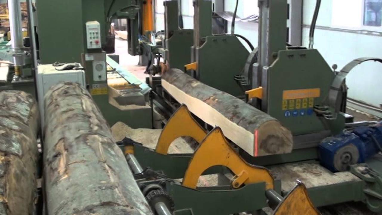 Hydraulic Log Carriage & Log Bandsaw