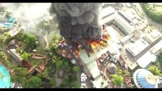 Énorme incendie à Europa Park - Parc d'attraction
