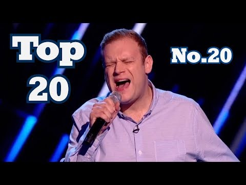 The Voice - My Top 20 Blind Auditions Around The World (No.20)