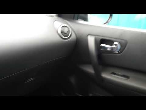 Снятие накладок дверных ручек Nissan Qashqai Ниссан Кашкай J10