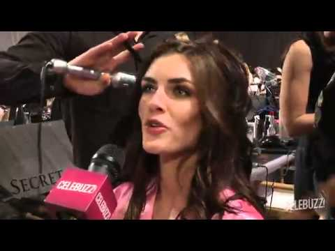 Victoria s Secret Fashion Show 2012  Backstage With Hilary Rhoda
