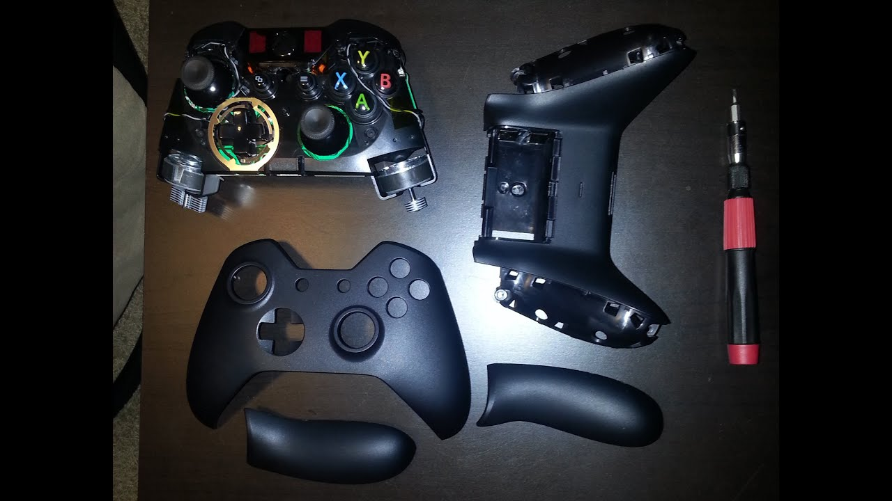 How to Take Apart an Xbox One Controller for Painting - YouTube