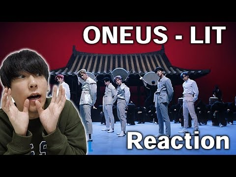 ONEUS(원어스) - LIT MV REACTION | FUJIP TV