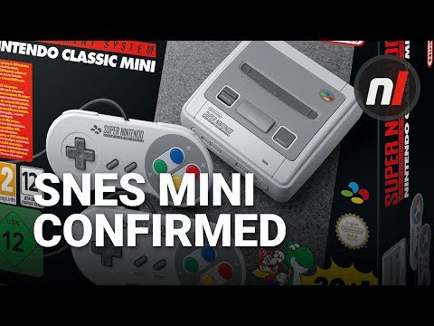 SNES Mini / Super NES Classic Edition Confirmed by Nintendo, and It Comes With Star Fox 2