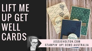 Lift Me Up Stamps & True Gentleman DSP By Stampin Up