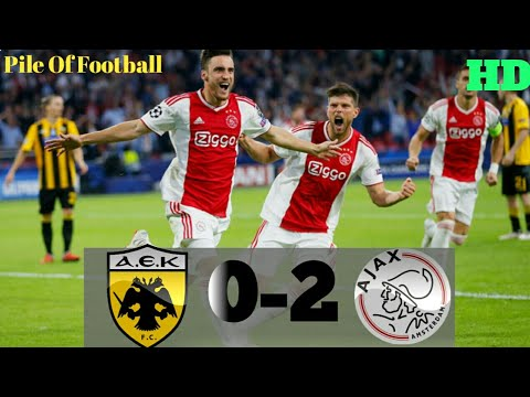 AEK Athens vs Ajax (0-2) CHAMPIONS LEAGUE All Goals and Extended Highlights # 27_11_2018