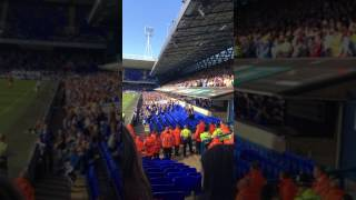 Sheffield Wednesday Fans Celebrating Going 1-0 Up At Ipswich!!!
