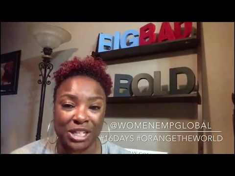 A powerful, bold and inspirational message for women (by Vaneese Johnson - The Boldness Coach)