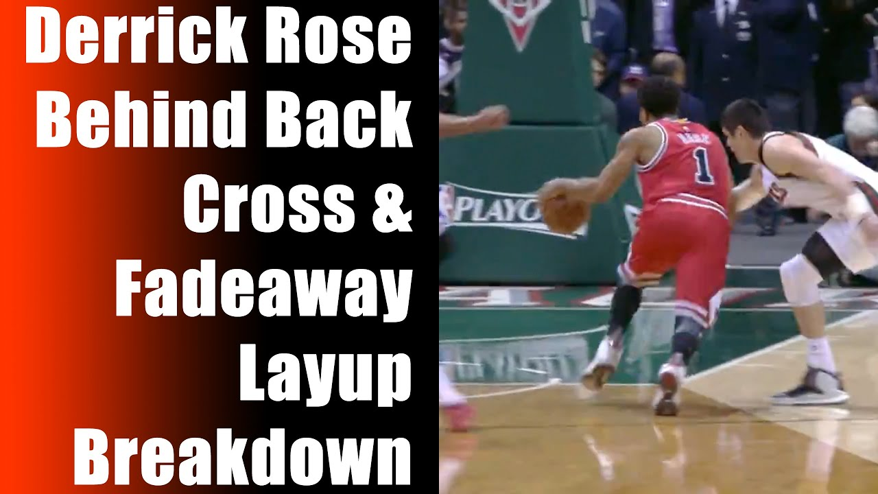 977b0613604 How To  Derrick Rose Crossover and Fadeaway Layup Highlights - Basketball  Moves Ankle Breaker