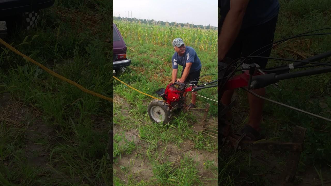 Сломался мотор на мотоблоке не беда!!!