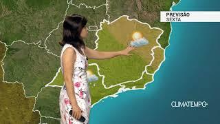 Previsão Sudeste – Ar seco no ES e parte de MG