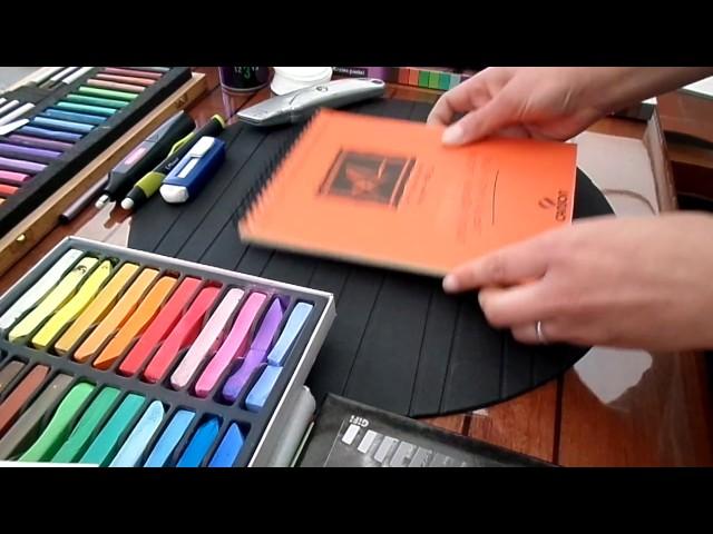 Tuto: Comment utiliser les pastels secs - Partie 1 sur 2