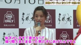 モデルで女優の高橋メアリージュンさんが13日、東京・渋谷109で行われた『...