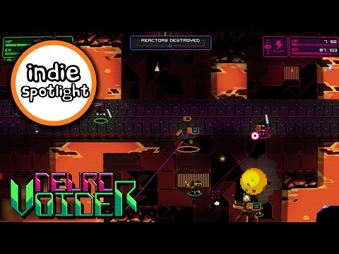 Indie Spotlight - Neurovoider - Twin Stick Robot Roguelike Shooter!