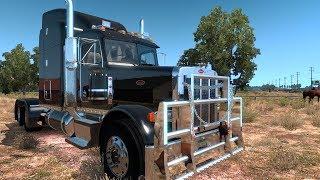 American Truck Simulator 378 Peterbilt  Cattle Run