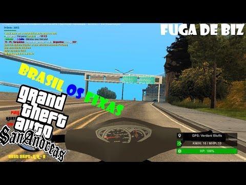 GTA SAN MTA #MOTO VLOG 1 Fuga De Biz ! ! !!