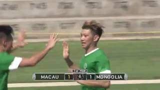 Macau vs Mongolia Highlights (Men's)|EAFF E-1 FOOTBALL CHAMPIONSHIP 2017 ROUND 1 GUAM