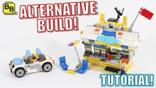 LEGO CREATOR 31079 ALTERNATIVE BUILD BEACH BAR!