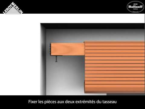 Poser Un Store Bois Tiss Sans Perage  Youtube