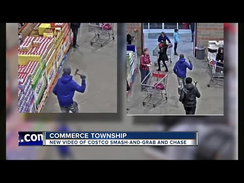 Detroit teens charged for smash-and-grab at metro Detroit Costco