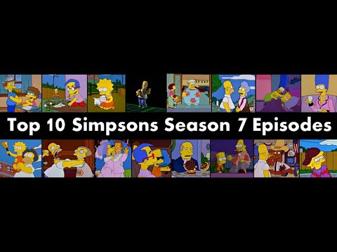 Top 10 Simpsons Season 7 Episodes Youtube