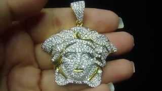 Medusa Iced Out Jay Z Style Bling Custom Pendant